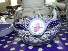 Treats at  a Purple Polka Dot Tea Party #teaparty #treats