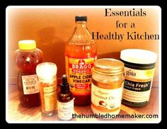 There are many items in our kitchens that should probably be replaced. Take baby steps as you gather essentials for a healthy kitchen.