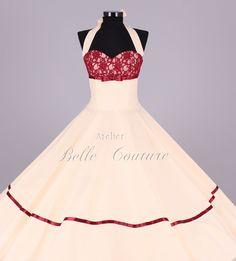 Wunderschönes  50er Jahre Brautkleid Marie II