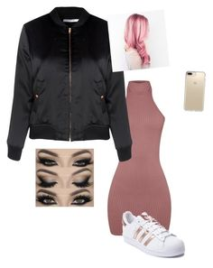 """Untitled #23"" by alevsumer on Polyvore featuring adidas, Glamorous and Speck"
