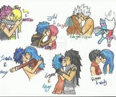 Fairy Tail couples♥