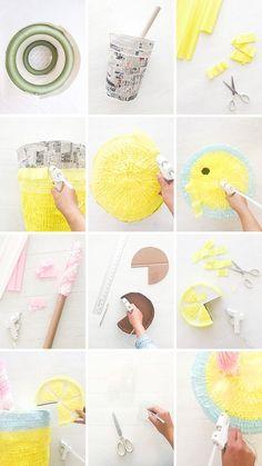 Lemonade Pinata   Oh Happy Day!   bloglovin '