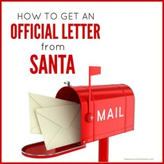 Free Letters From Santa For Kids  Santa Free And Holidays