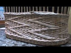 """Объемный узор """"Зигзаг"""" на основе ситцевого плетения. Часть 2. - YouTube"""