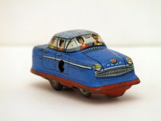 Germany west tin windup car