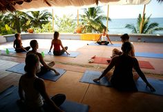 Yoga Class in Sayulita by Via Yoga on Flickr.