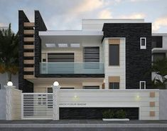What do you think of about this beautiful house design? Modern Exterior House Designs, Modern Tiny House, Modern House Plans, Modern House Design, Contemporary Design, Single Floor House Design, Bungalow House Design, Small House Design, Front Wall Design