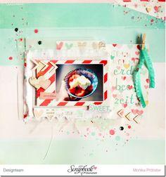 *Imagicallery*: {Scrapbooking} Layout- Noch keine Erdbeerzeit! #scrapbooking #cratepaper