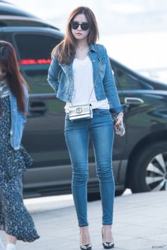 Apink Naeun Airport Fashion   Official Korean Fashion