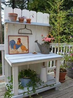 Best Potting Bench Design Ideas To Make Gardening Work Easy