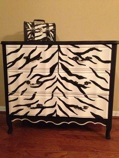 an idea for painting a dresser