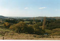 Vista desde el Cerro El Centinela, Tandil, Buenos Aires, Argentina.