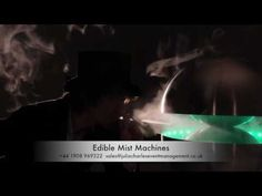 Edible mist machines available to hire for themed events in London and the UK