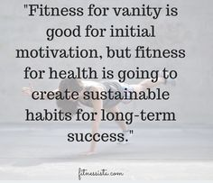 Health Inspiration Screen Shot at AM - Is fitness for vanity purposes good, bad or neither? Isn't it better to be motivated by health reasons?Here's my response to some reader comments on the issue. Fitness Quotes, You Fitness, Fitness Tips, Health Fitness, Workout Quotes, Workout Tips, Workouts, Good Motivation, Fitness Motivation