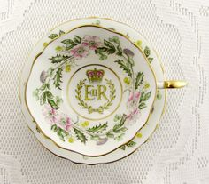 Paragon Commemorative Tea Cup and Saucer for the Coronation of Queen Elizabeth II in 1953
