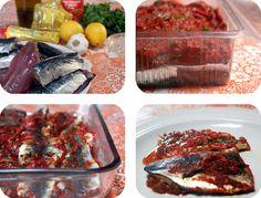 "Recipes ""Sardines à la marocaine"" un delicious...hummmmmm"