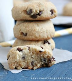 Perfect Chocolate Chip Cookies (grain/dairy/egg free)