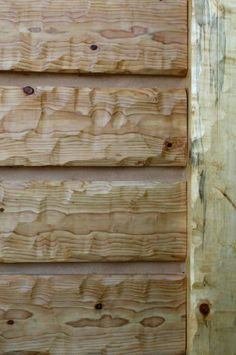 16 hand hewn everlog siding standard colors available natural grey tan golden natural for Interior log cabin look siding