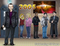 10 years ago this month Doctor Who rebooted on BBC.