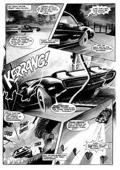 Knight Rider Archives: Comic Strips: Break Out (1983)