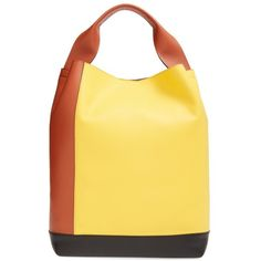 Marni 'Medium' Colorblock Hobo (€1.610) ❤ liked on Polyvore featuring bags, handbags and shoulder bags