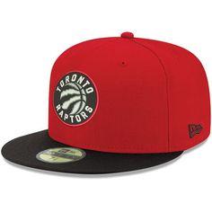 b6560cdacfa Men s Toronto Raptors New Era Red 2Tone 59FIFTY Fitted Hat