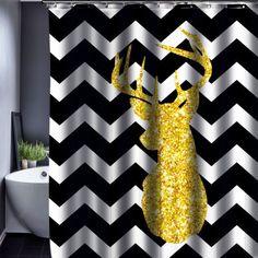 geometric shower curtain pattern customized shower curtain waterproof bathroom fabric 165x180cm shower curtain for bathroom bathroom