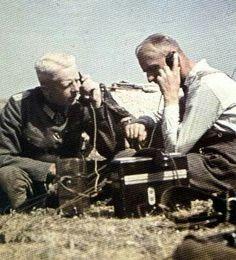 German radio operators - north of Stalingrad