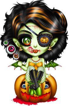 tubes halloween - Page 26 Halloween Doll, Halloween Fashion, Cute Halloween, Halloween Designs, Voodoo Doll Tattoo, Voodoo Dolls, Sugar Skull Crafts, Sugar Skull Girl, Sugar Skulls