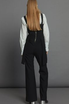 Relay Jumpsuit - Black Minimal Beauty, Aw17, Black Jumpsuit, Winter White, Luxury Fashion, Dressing, The Incredibles, Collection
