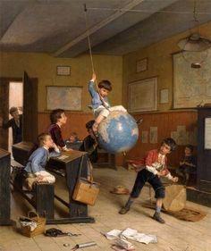 Dargelas, Andre Henri (b,1812)- Globe Ride (Le Tour Du Monde) -2a