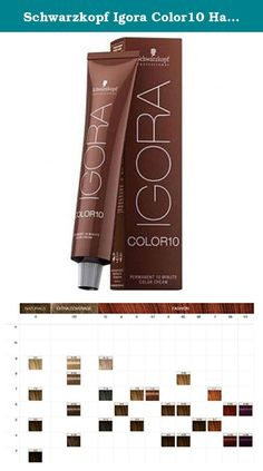Schwarzkopf Igora Color10 Hair Color - 5-0 Light Natural Brown 2.1oz. IGORA COLOR10 With full speed to fabulous color. IGORA COLOR10 is ideal for re-growth and touch-up services, as well as global applications on short to medium length hair, achieving the same result as a standard permanent coloration - all with just a 10 minute development time. Using the innovative Amino Acid Carrier Technology, IGORA COLOR10 delivers beautiful color results, perfect coverage and outstanding care. For...