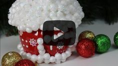 DIY Crafts for Christmas Plastic Bottles Winter House. Click here to find out how to make this