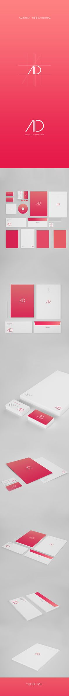 Agency Branding on Behance