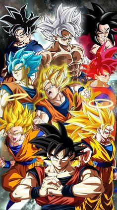 Dragon Ball Super Manga, Episode and Spoilers Dragon Ball Gt, One Punch Man Anime, Wallpaper Do Goku, Dragonball Wallpaper, Wall Wallpaper, Goku Transformations, Goku Super, Animes Wallpapers, Anime Art