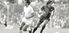 Claudio Sala con il Genoa