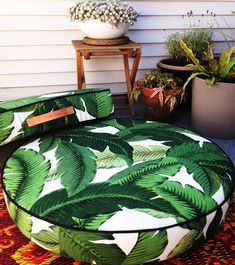 G&J Indoor/Outdoor Tahiti Round and Square Floor Pillows, perfect scattered around your home to invite bottoms to sit and chilling to proceed.