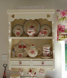 Emma Bridgewater on wall dresser