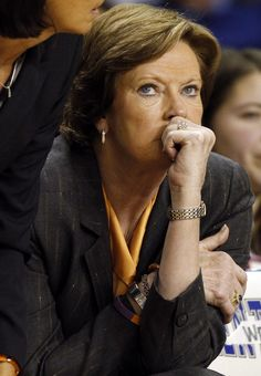 Pat Summitt: paved the way for women's basketball and now doing it for Alzheimer's. This women is truly an inspiration.