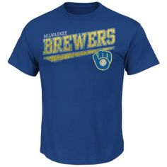 Find the  Men's Milwaukee Brewers Tee - Deep Royal by  at Mills Fleet Farm.  Mills has low prices and great selection on all Men's Sports Apparel.