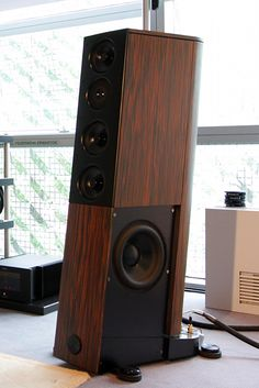 Audio Physic: although I'm not a fan of this kind of speakers, I really like the engineering coherence of this brand
