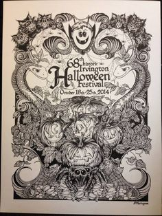 Irvington Halloween Festival | Poster Design Contest | Pinterest ...