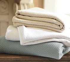 Organic Essential Blanket #potterybarn