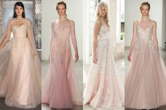 White not your thing? Blush pink is the fashion-forward bride's shade of choice for 2017 (BridesMagazine.co.uk)