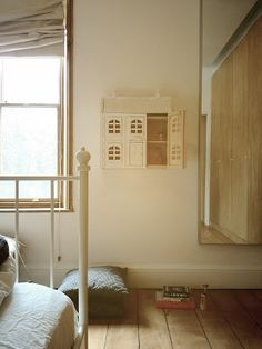 MESy design: DIY project: doll house on the wall