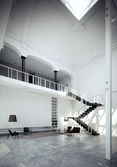 Loft in Monza ~ Architecture by Piero Lissoni ~ Photography by BBB3viz @ flickr