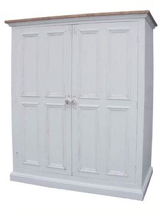 large cupboard to hide everything
