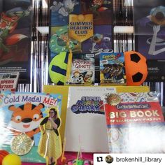 Broken Hill City Library // Broken Hill New South Wales Australia  Flat Librarian has checked the Summer Reading Club program for degrees of fun with her tick of approval the launch party is set to go off tomorrow! #flatlibrarian #summerreadingclub #SRC #librarydisplay #nswpubliclibrary #GameOn