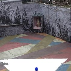 Installation @SpringBreakArtShow in NY by French Street Artist, JR.