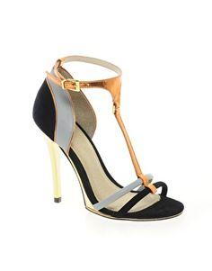 ASOS HALLOW Suede High Heel Sandals